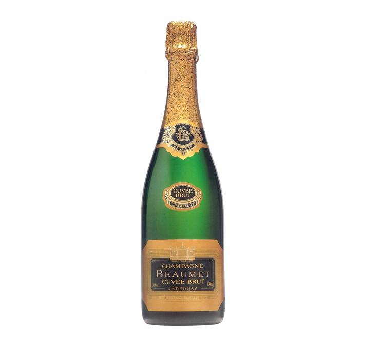Beaumet Cuvée Brut Champagne Cuvee Frankrijk